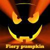 Fiery pumpkin. Find objec…